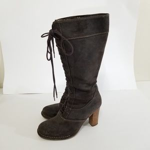 Frye size 6.5 villager lace up boots